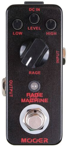 Pedal Mooer Rage Machine | Metal Distortion | Guitarra