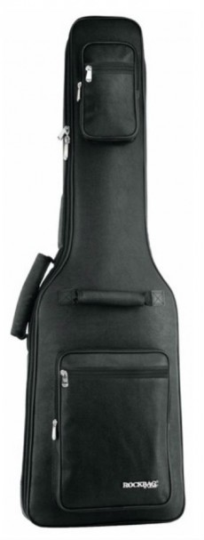 Bag Rockbag RB 20566 B Leather Line | Guitarra | Couro Sintético | Bk