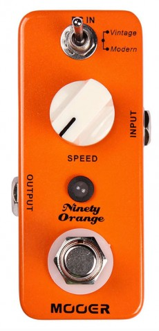 Pedal Mooer Ninety Orange | Phaser | Guitarra