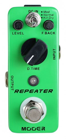 Pedal Mooer Repeater | Delay | Para Guitarra