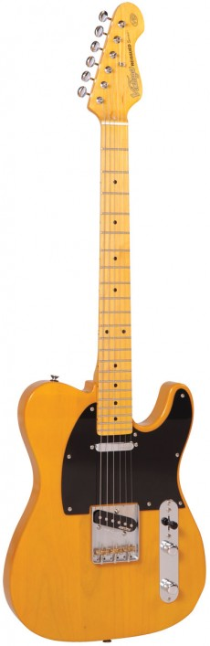 Guitarra Vintage V52 Reissue | Tele | Escala Maple | Butterscotch (BS)