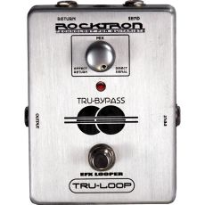 Pedal Rocktron Tru Loop | Send Return | True Bypass | Para Guitarra