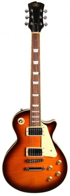 Guitarra SX EF3D | LP | Flamed Maple | Sunburst (DS)
