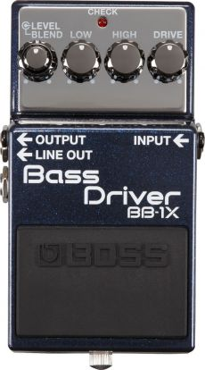 Pedal Boss BB-1X | Bass Driver | High Low e Drive | Para Baixo