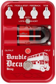 Pedal Vox Double Deca | Tone Garage | Delay | Para Guitarra