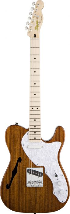 Guitarra Fender Squier Classic Vibe Telecaster Thinline Natural