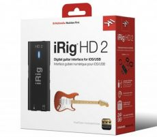 Interface iRig HD2 | IK Multimedia | Para Guitarra