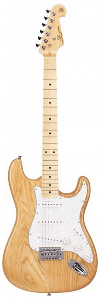 Guitarra SX SST Ash | Strato | SSS | Escala em Maple | Natural  - foto principal 1