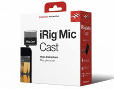 Microfone iRig Mic Cast | IK Multimedia | Compacto