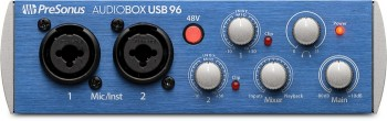 Interface Presonus AudioBox USB 96 | Phantom Power  - foto principal 1