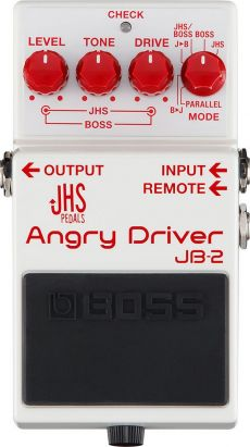 Pedal Boss JB-2 Angry Driver | Overdrive | Para Guitarra