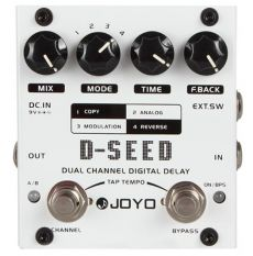 Pedal Joyo D-Seed | Digital Delay | Para Guitarra