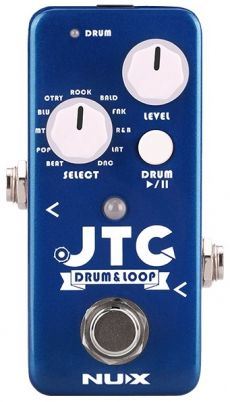 Pedal Nux Mini JTC | Drum e Loop | Para Guitarra