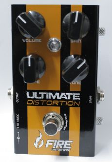 Pedal Fire Ultimate Distortion | True Bypass | Para Guitarra | SALDÃO