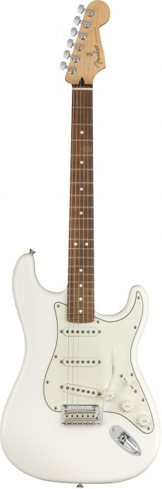 Guitarra Fender Player Stratocaster PF | 014 4503 | SSS | Polar White (515)
