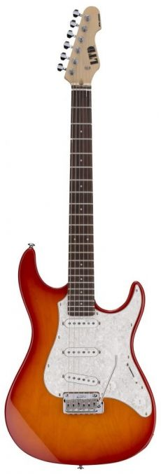 Guitarra ESP LTD SN-200W | SSS | Copper Sunburst (CPRS)