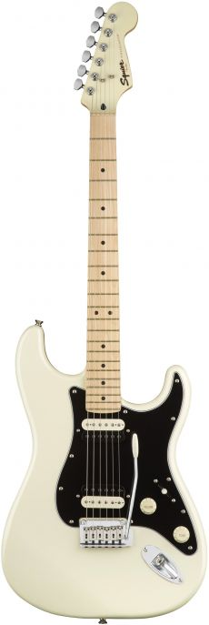 Guitarra Fender Squier Contemporary Stratocaster HH MN | 037 0222 | Pearl White (523)
