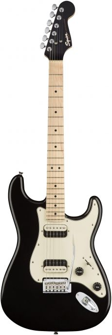 Guitarra Fender Squier Contemporary Stratocaster HH MN | 037 0222 | Black Metallic (565)