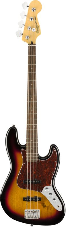 Baixo Fender Squier Vintage Modified Jazz Bass LR | 4 Cordas | 037 6600 | 3-Color Sunburst (500)