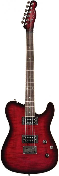 Guitarra Fender Custom Telecaster FMT HH LR | 026 2004 | Black Cherry Burst (561)