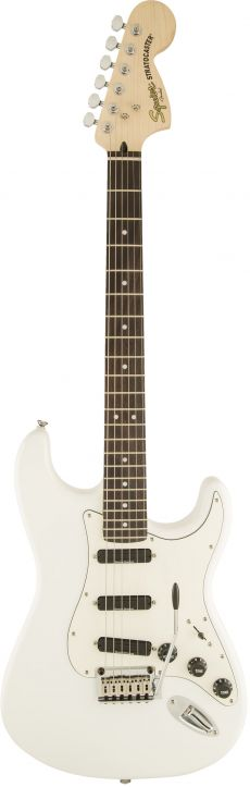 Guitarra Fender Squier Deluxe Hot Rails LR | 037 0510 | Olympic White (505)