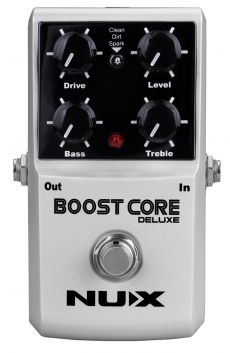 Pedal Nux Boost Core Deluxe | Booster | Para Guitarra