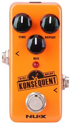 Pedal Nux Mini Konsequent Digital Delay | Para Guitarra