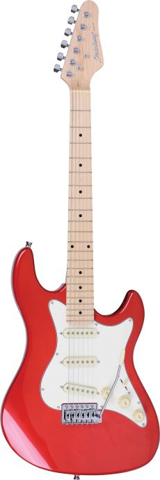 Guitarra Strinberg STS-100 | Strato | SSS | Metallic Wine Red (MWR)