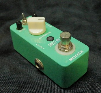 Pedal Mooer Green Mile | Overdrive | True Bypass | Guitarra | USADO  - foto principal 1