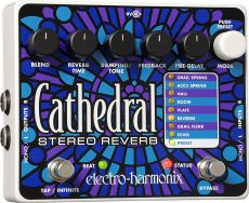 Pedal Electro-Harmonix Cathedral | Stereo Reverb | Para Guitarra