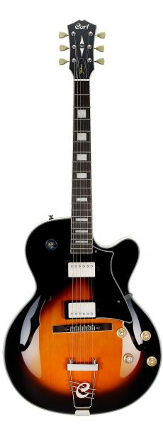 Guitarra Cort Yorktown | Full-hollow | BAG | Tabacco Burst