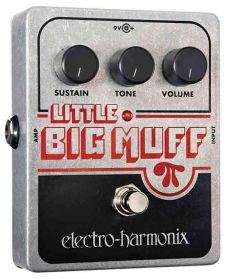 Pedal Electro-Harmonix Little Big Muff PI | Distorção e Sustainer | Para Guitarra