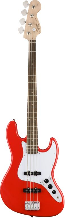 Baixo Fender Squier Affinity Jazz Bass LR | 4 Cordas | 037 0760 | Racing Red (570)
