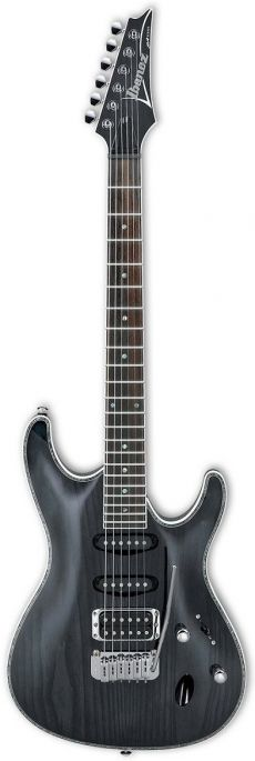 Guitarra Ibanez SA 360 AH | HSS | Stained Black (STK)