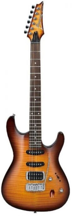 Guitarra Ibanez SA 160 FM | HSS | Brown Burst (BBT)