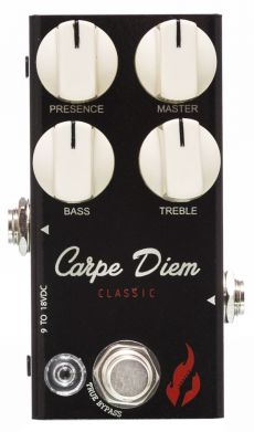 Pedal Fire Carpe Diem Mini | Overdrive | True Bypass | Para Guitarra