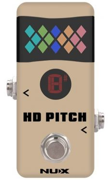Pedal Nux HD Pitch | Bypass | Afinador