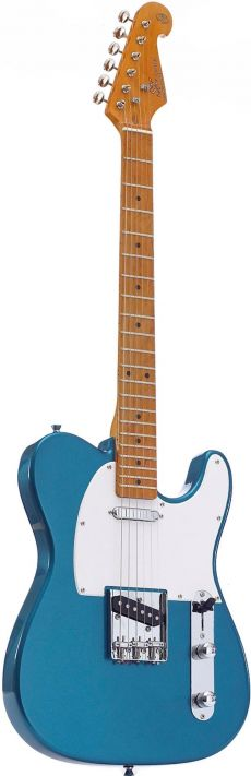Guitarra SX STL 50 | Tele | Escala Maple | Bag | Lake Pacific Blue