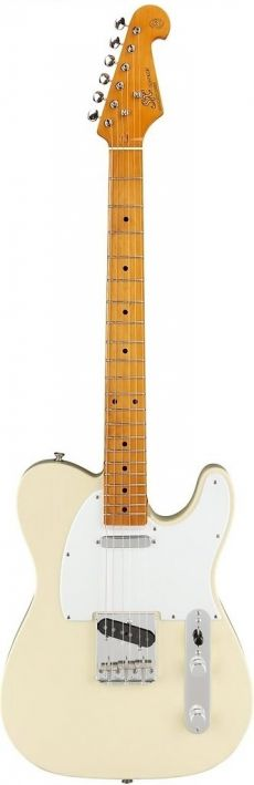 Guitarra SX STL 50 | Tele | Escala Maple | Bag | Vintage White