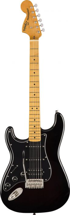 Guitarra Fender Squier Classic Vibe Stratocaster 70s MN LH | Canhoto | HSS | 037 4026 | Preta (506)