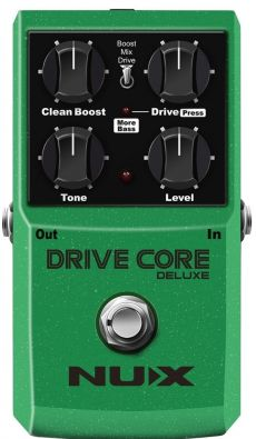 Pedal Nux Drive Core Deluxe | Overdrive | Para Guitarra