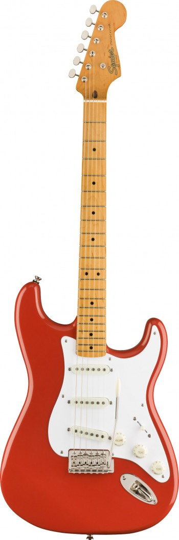 Guitarra Fender Squier Classic Vibe 50s Stratocaster MN | SSS | 037 4005 | Fiesta Red (540)  - foto principal 1