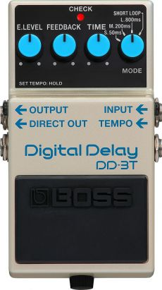 Pedal Boss DD-3T | Digital Delay | Para Guitarra
