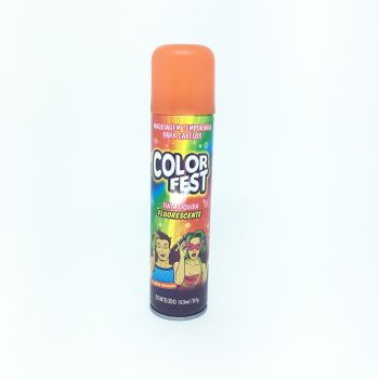 Tinta em Spray Color Fest Fluorescente Laranja- 150 ml