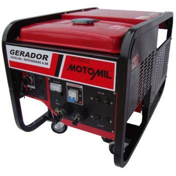 Gerador à Gasolina - MGT-11000CLE - 11Kva 12Vdc 4T 220V Trifasica - MGT-11000CLE - Motomil