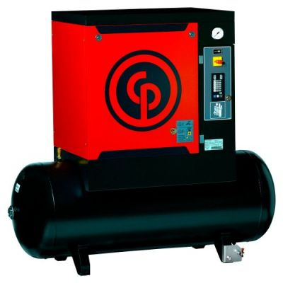 Compressor de ar a parafuso CPM 15 T 265L - 15cv 10 Bar - Chicago Pneumatic