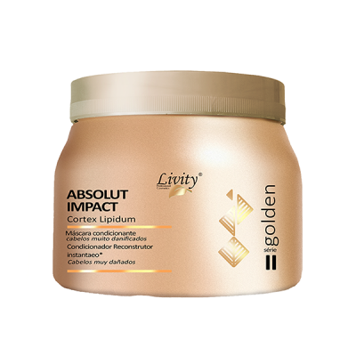 Máscara Condicionante Absolut Impact Livity 500g pH 4,0 – 4,5