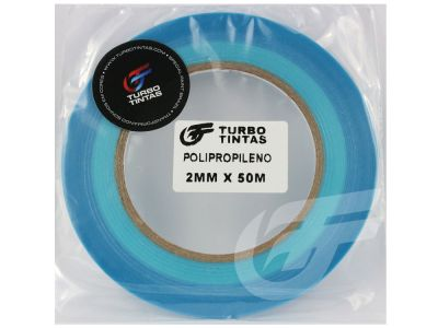 Fita Filete Automotiva Azul - 2mm x 50m