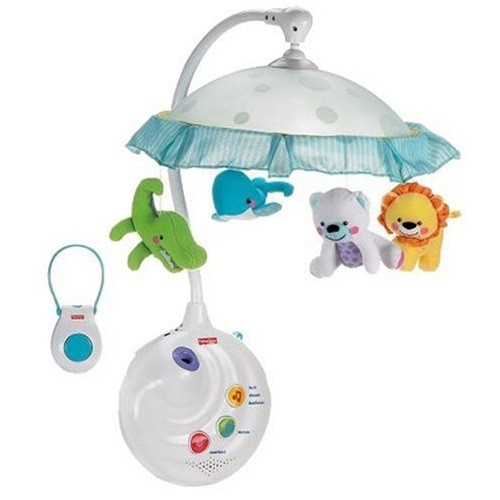 MOBILE FISHER PRICE  2 EM 1 PRECIOUS PLANET