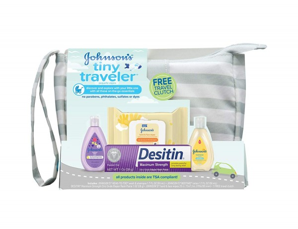 KIT DE VIAGEM TINY TRAVELER BABY JOHNSON'S